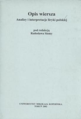 Opis Wiersza Analizy I Interpretacje Liryki Polskiej